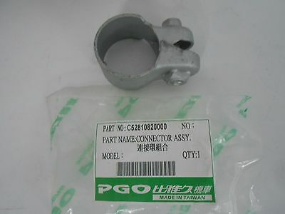 OEM PGO Scooter Alloro 125 G-Max125 Muffler Connector Assy C52810820000