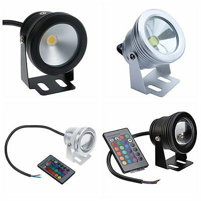 12V Swimming Pool Lamp 10W LED Under Water Light Waterproof with Remote Control