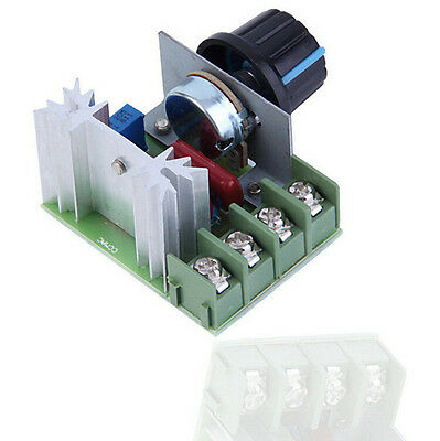 Controller Speed Dimming SCR Voltage Regulator 2016 Dimmers Thermostat 2000W