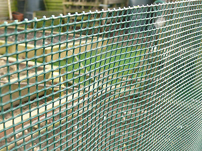 Garden Fence 1x10m Mesh Pet Fencing Dog Boarder Netting Green Plant Protection