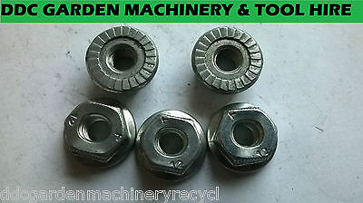 Stihl hedge cutter bar nuts pack of 5 genuine stihl spares