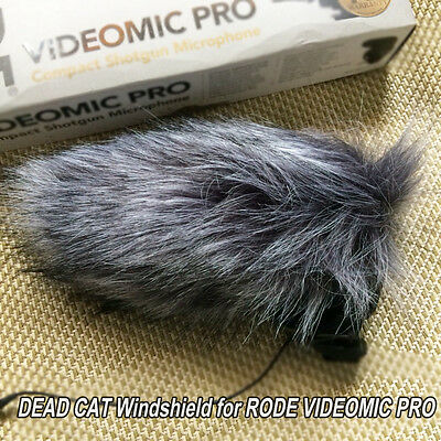 RODE MVP DeadCat Wind Shield for Rode VideoMic Pro Outdoor Fur Windscreen Gunmic