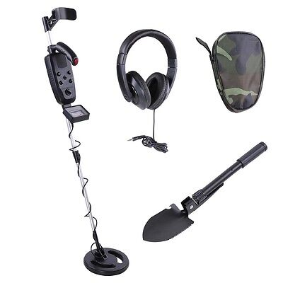 Metal Detector Underground Gold Hunting Treasure Search Coils + Headphone MD2005