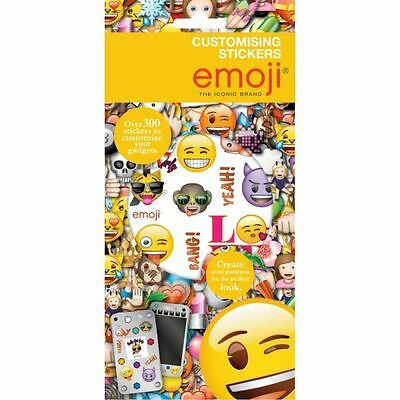 New Customise Kids Emoji sticker book Over 300 stickers Card Making Gadget Craft