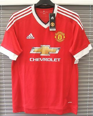 New Authentic Adidas Manchester United 2015/16 Home Shirt ADIZERO PLAYER ISSUE