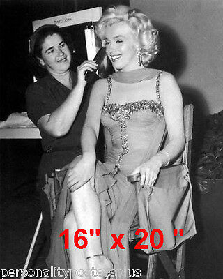 "Marilyn Monroe~Hair Salon~Spa~Barber~Blow Dry~Photo~Decor~Stylist~Poster~16""x20"""