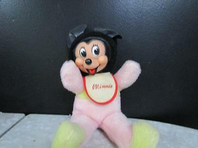 Vintage Gund..Rubber Face...Minnie Mouse Plush Toy