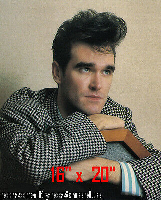 "Morrissey~Hair Salon~Poster~#2~Barber~Photo~Rockabilly~Stylist~Smiths~16"" x 20"""