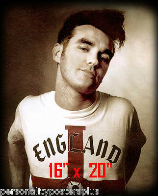 "Morrissey~Hair Salon~Poster~Barber~Photo~Rockabilly~Stylist~Smiths~16"" x 20"""