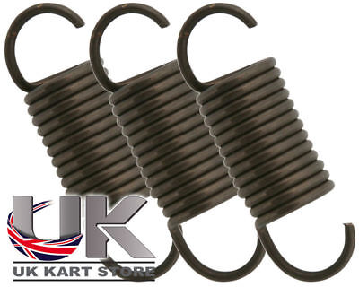 High Tension Exhaust Springs 42mm x 3 Go Kart Karting Race Racing