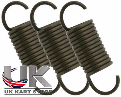 High Tension Exhaust Springs 42mm x 3 UK KART STORE