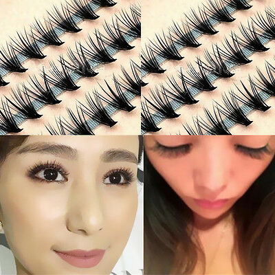 Hot Tool Eye Lash Extension Natural Individual 12MM False Eyelashes Makeup Long