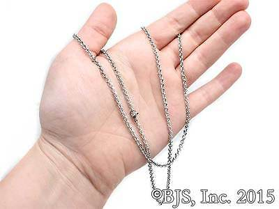 Moria Mithril Rolo Chain, Titanium Chain, The Hobbit & Lord of the Rings Jewelry