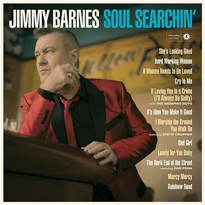 Jimmy Barnes Soul Searchin' 2cd DELUXE EDITION new sealed release 03/06/2016