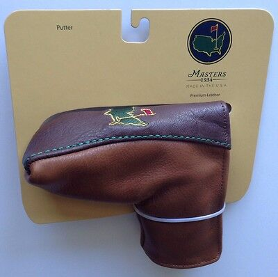MASTERS Golf Tournament MEMBERS LEATHER PUTTER COVER 2017 Masters Pga