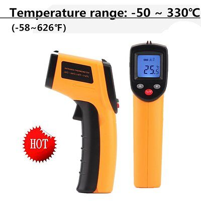 Nice Non-Contact LCD IR Laser Infrared Digital Temperature Thermometer Gun EM
