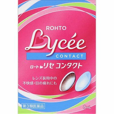 Rohto Lycee CL for contact Eyedrops 8ml from Japan