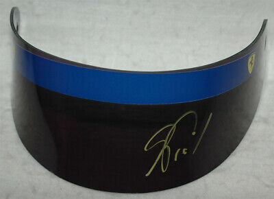 Alain Prost Signed Replica F1 1990 Visor with Proof