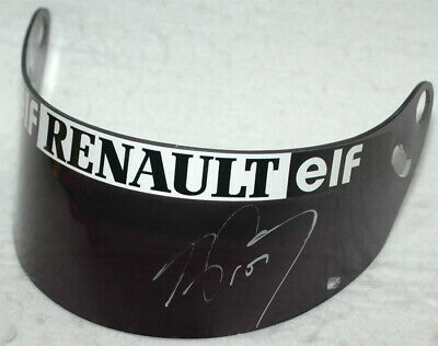 Alain Prost Signed Replica F1 1993 Visor with Proof