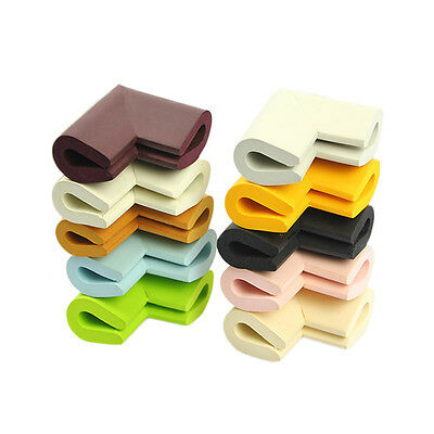 8 pcs Baby Safety Table desk Edge Corner Cushion Guard Softener Bumper Protector