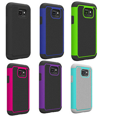 10pcs/lot Ballistic Football Hybrid Case For Samsung Galaxy S7 Active G891A