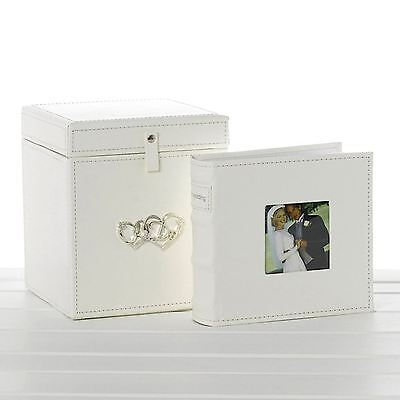 "Wedding Photo Library 21cm High 3 x Albums 50 Pages Each Takes 6"" x 4"" 15 x 10cm"