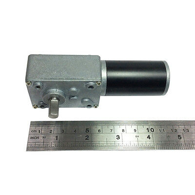 Reversible 12V Electrical Little DC Right Angle Gear Motor 470 RPM High Speed