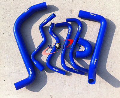 Holden Commodore VT & VX 3.8L V6 1997-2002 Silicone Radiator Hose Kit BLUE