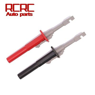 Test Clip Set Insulation Piercing Alligator Probes For Car Circuit Detection New