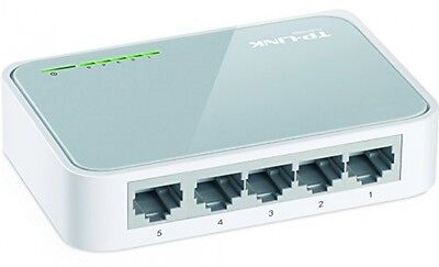 TP-Link Network Switch Hub Ethernet Lan Splitter 5 Port 10/100Mbps Home Office #