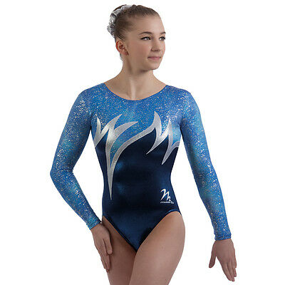 "Milano Pro Sport Gymnastic Leotard TROPICANA 77614  Sizes 26""-36"" - NEW"