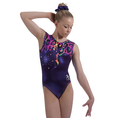"Milano Pro Sport Gymnastic Leotard VERONA BODICE 77613  Sizes 26""-36"" - NEW"