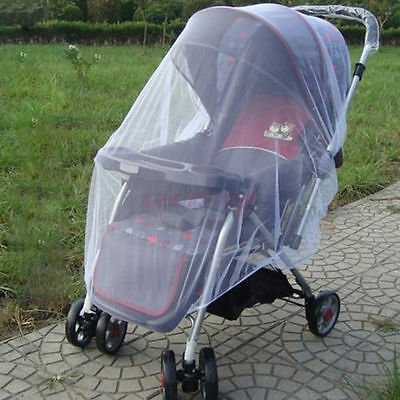 Infants Baby Stroller Pushchair Anti-Insect Mosquito Net Safe Mesh SWW