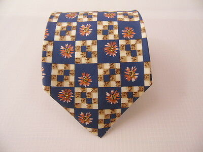 100% Seta Pura Silk Tie Seta Cravatta Made In Italy  A5374