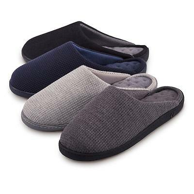 isotoner Textured Pillowstep Mule Slippers