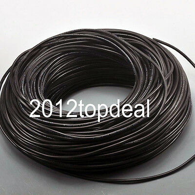 2Pin Extension Black Wire Cable Cord for 3528 5050 5630 LED Strip Lamp 22AWG
