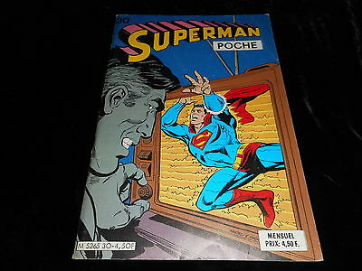 Superman poche 30 Editions Sagédition février 1980