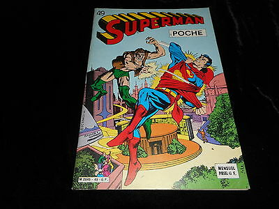 Superman poche 49 Editions Sagédition septembre 1981