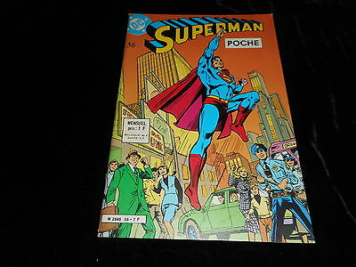 Superman poche 56 Editions Sagédition avril 1982