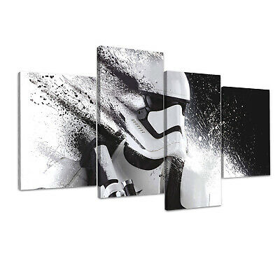 STAR WARS Stormtrooper Canvas Framed Print Wall Art  ~ More Size