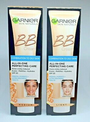 GARNIER BB Cream Miracle Skin Perfector SPF 20 for Combination to Oily Skin 40ml