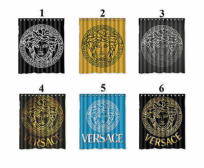 "Versace Waterproof Shower Curtain "" Select Number Your Favorite Curtain"""
