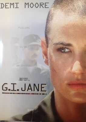 G.i. Jane Movie Press Kit Rare , Plus Bonus Presskit The Hanging Garden