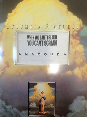Anaconda Movie Press Kit Rare , Plus Bonus Presskit Double Team
