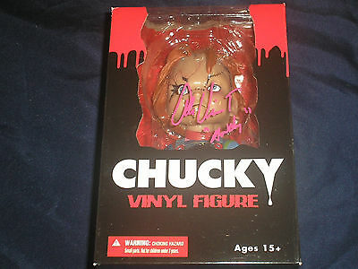 Alex Vincent Signed Chucky Mezco Figure Autograph Andy in Child's Play