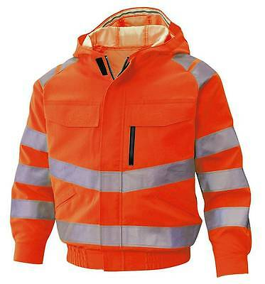 Fluorescent Reflective Air Conditioning Cool Jacket Safety Clothing