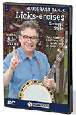 Bluegrass Banjo Licks-Ercises DVD 1: Scruggs Style Turn Powerful Exerc 000173469