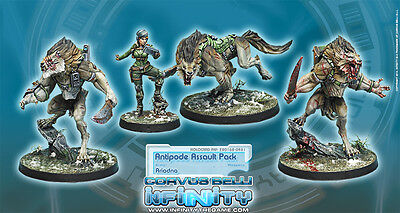 INFINITY - Corvus Belli - ANTIPODE ASSAULT PACKS - NEW
