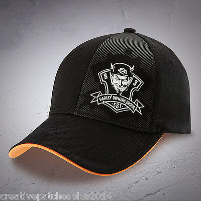 Harley Davidson HOG Ball cap NEW NICE NWT Rebel fit