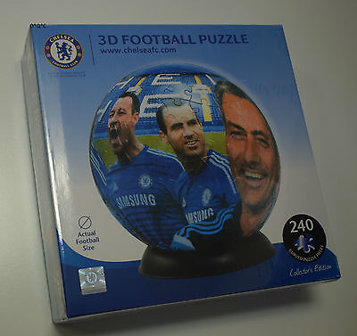 3D CHELSEA FC FOOTBALL CLUB PUZZLE BALL 240 pieces Full size!